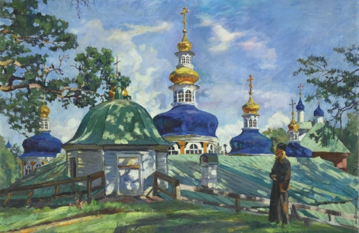 Виноградов С. А. Купола Успенского собора
