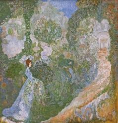 Милиоти В. Д. Девушка в саду