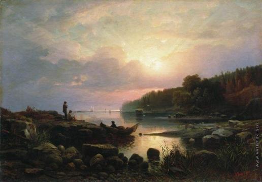 Гине А. В. Финляндский пейзаж