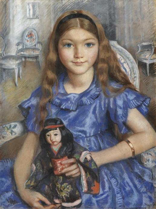 Серебрякова З. Е. Девочка с куклой