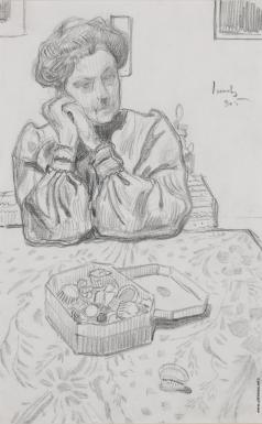 Добужинский М. В. Портрет женщины
