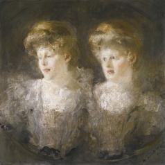 Шемякин М. Ф. Портрет двух дам