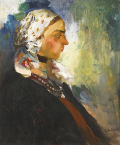 Малявин Ф. А. Крестьянка в платке