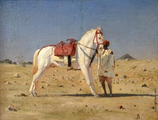 Верещагин В. В. Белая лошадь