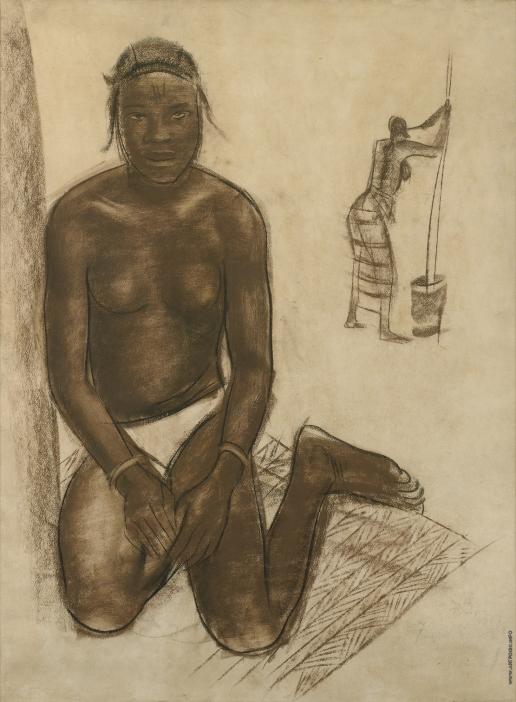 Яковлев А. Е. Африканская женщина