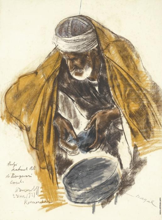 Яковлев А. Е. Портрет курда Хаджи Махмета Али де Бенгвари