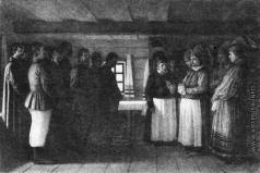 Верещагин В. В. Молебен духоборов