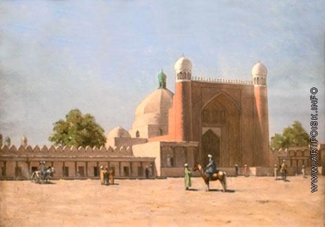 Верещагин В. В. Входные ворота во дворце Кокандского хана