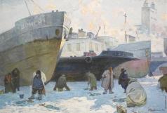 Чередниченко А. Д. Рыбалка зимой