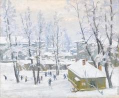 Нюренберг А. М. Москва зимой