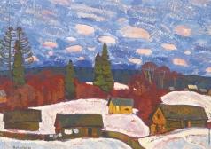 Матушевский Ю. В. Зима в деревне