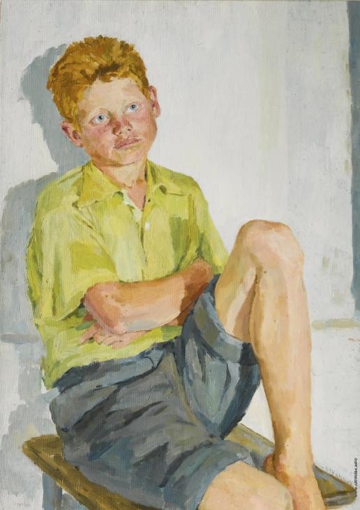 Колганова А. С. Портрет рыжего мальчика