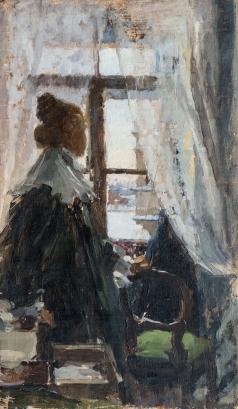 Шемякин М. Ф. У окна