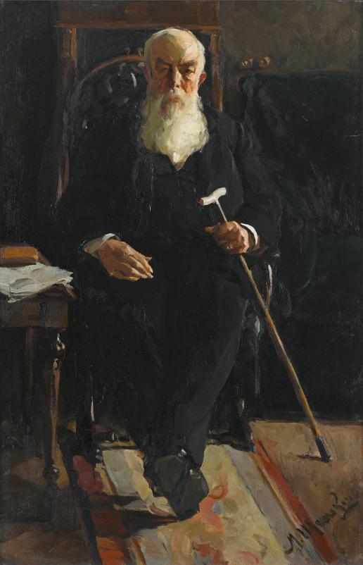 Шемякин М. Ф. Портрет А.И. Абрикосова
