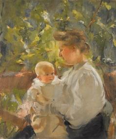Шемякин М. Ф. Мать и дитя