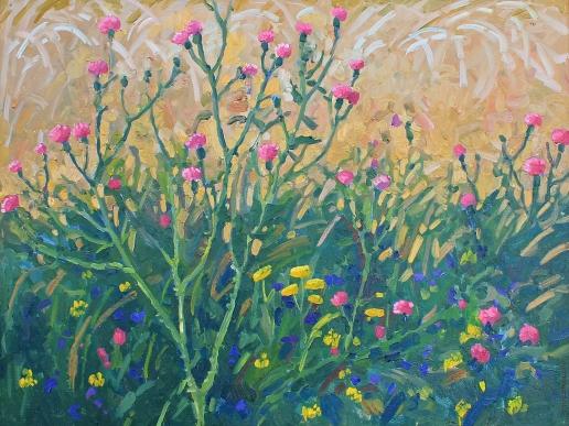 Нестерова А. М. Полевые цветы