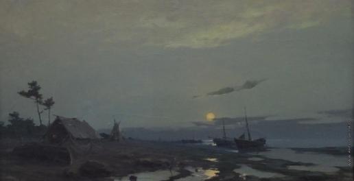 Скитальцев Е. Н. Восход луны