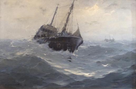 Скитальцев Е. Н. Балтийское море. На промысле