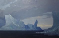 Скитальцев Е. Н. На промысле у ледяного барьера