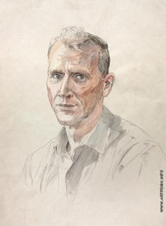 Михайловский В. М. Мужской портрет