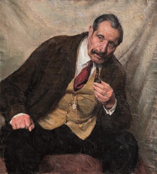 Михайловский В. М. Портрет пожилого человека