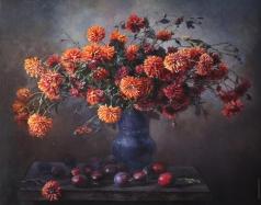 Панов Э. Э. Осенние хризантемы