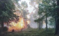 Панов Э. Э. Рассвет в лесу
