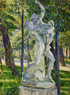 Локкенберг В. А. Похищение сабинянок. Скульптура в Летнем саду