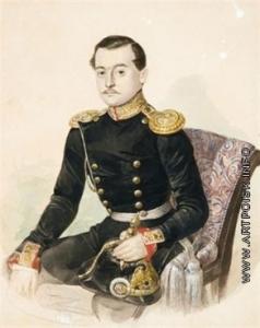 Ясевич К. А. Портрет офицера