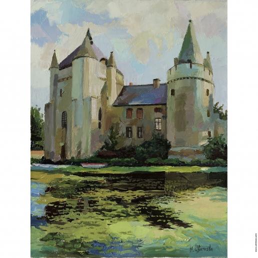 Цветкова Н. А. Замок. Франция