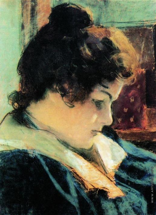 Головин А. Я. Портрет Марии Константиновны Головиной, жены художника