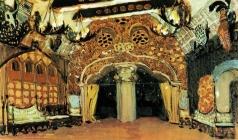 Головин А. Я. Эскиз декорации к балету П.И. Чайковского «Лебединое озеро»
