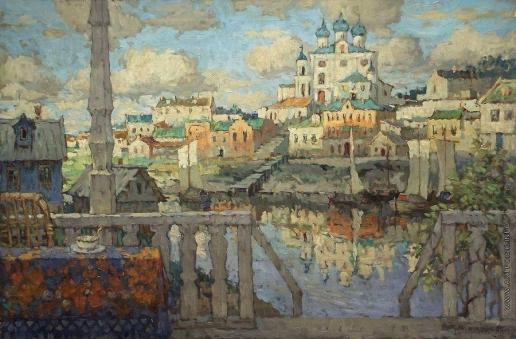 Горбатов К. И. Псков