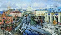 Горбатов К. И. Улица провинциального города