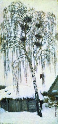 Грабарь И. Э. Белая зима. Грачиные гнезда