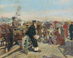 Грандковский Н. К. На базаре