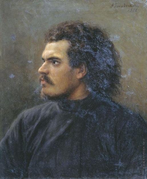 Грандковский Н. К. Портрет неизвестного (Пархоменко?)