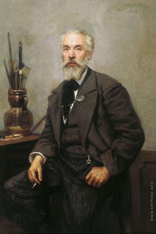 Грандковский Н. К. Портрет художника К.А. Савицкого