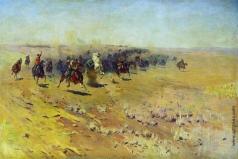 Греков М. Б. Кавалерийская атака
