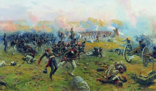 Греков М. Б. Лейб-гвардии Гренадерский полк в сражении при Бородине 26 августа 1812 года. 1912-