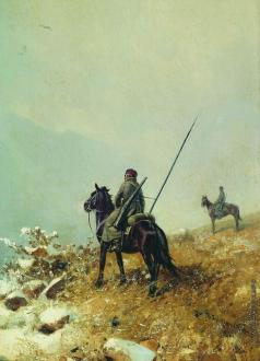 Грузинский П. Н. В дозоре