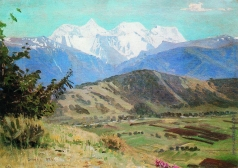 Гуркин Г. И. Вид на Белуху