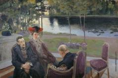 Демьянов М. А. Групповой портрет. (Борисов-Мусатов с семьей)