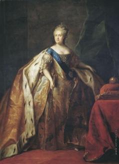 Дрождин П. С. Портрет императрицы Екатерины II