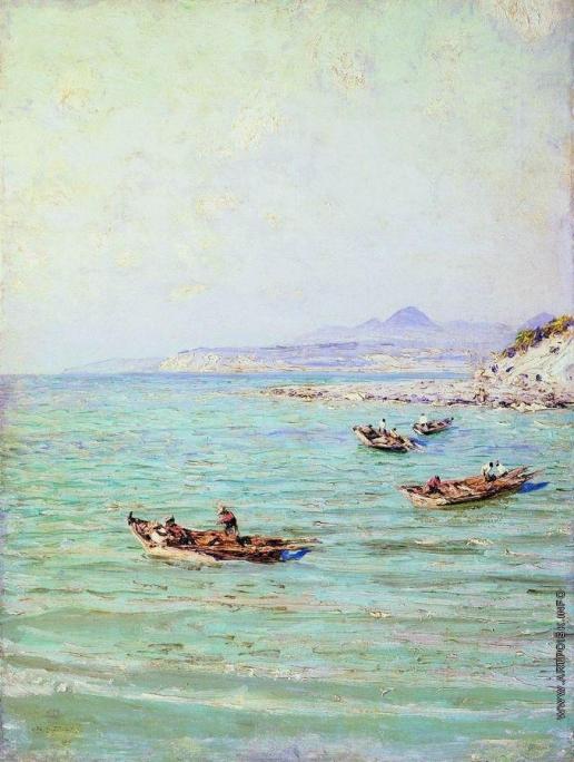 Дубовской Н. Н. Морской берег