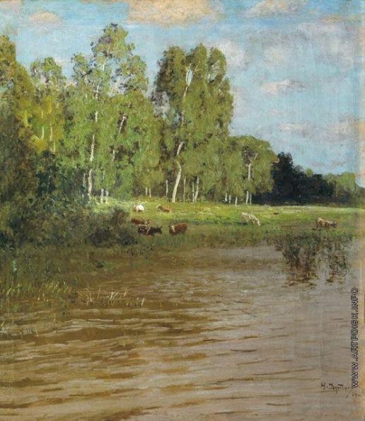 Дубовской Н. Н. Озеро