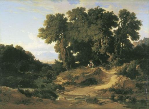 Жамет А. Д. Итальянский пейзаж