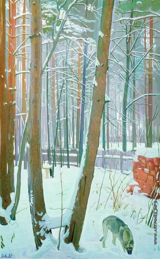 Жилинский Д. Д. Зима