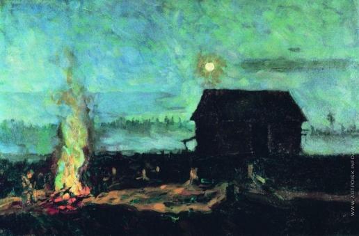 Жуковский С. Ю. Белая ночь