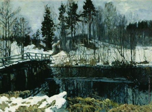 Жуковский С. Ю. Весна в Абрамцеве